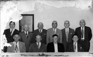 Shul Board and Officers, circa ?